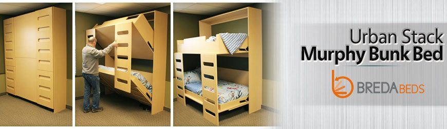 New product: Urban Stack Murphy Bunk Bed
