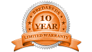 BredaBeds 10 year warranty